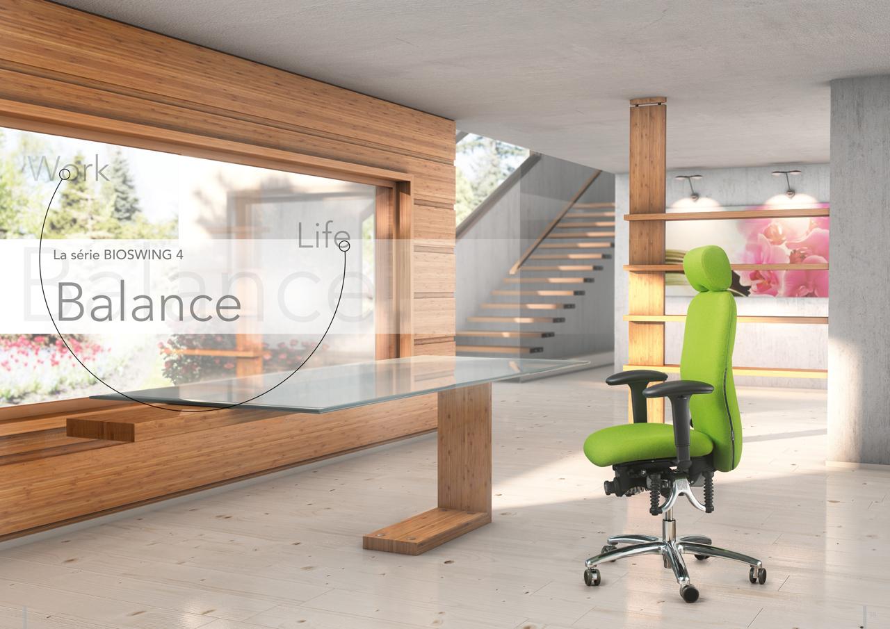 la s rie bioswing 4 aux docks du bureau buro espace. Black Bedroom Furniture Sets. Home Design Ideas